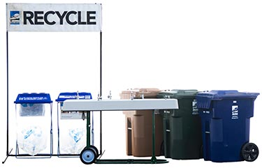 Image of City of Tacoma recycling bins