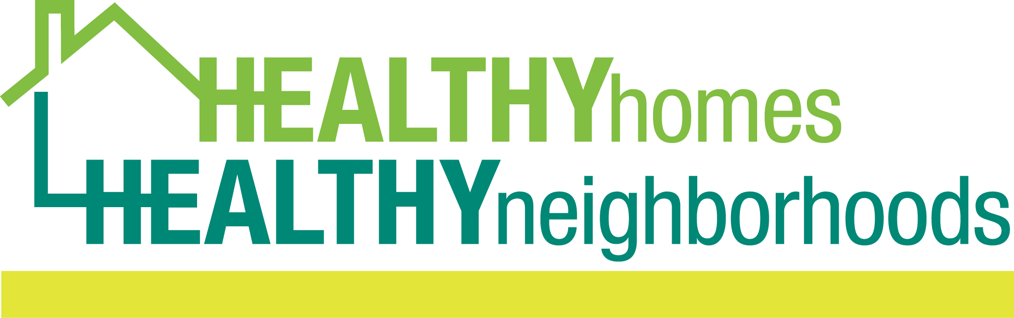 Healthy Homes, Healthy Neighborhoods Logo
