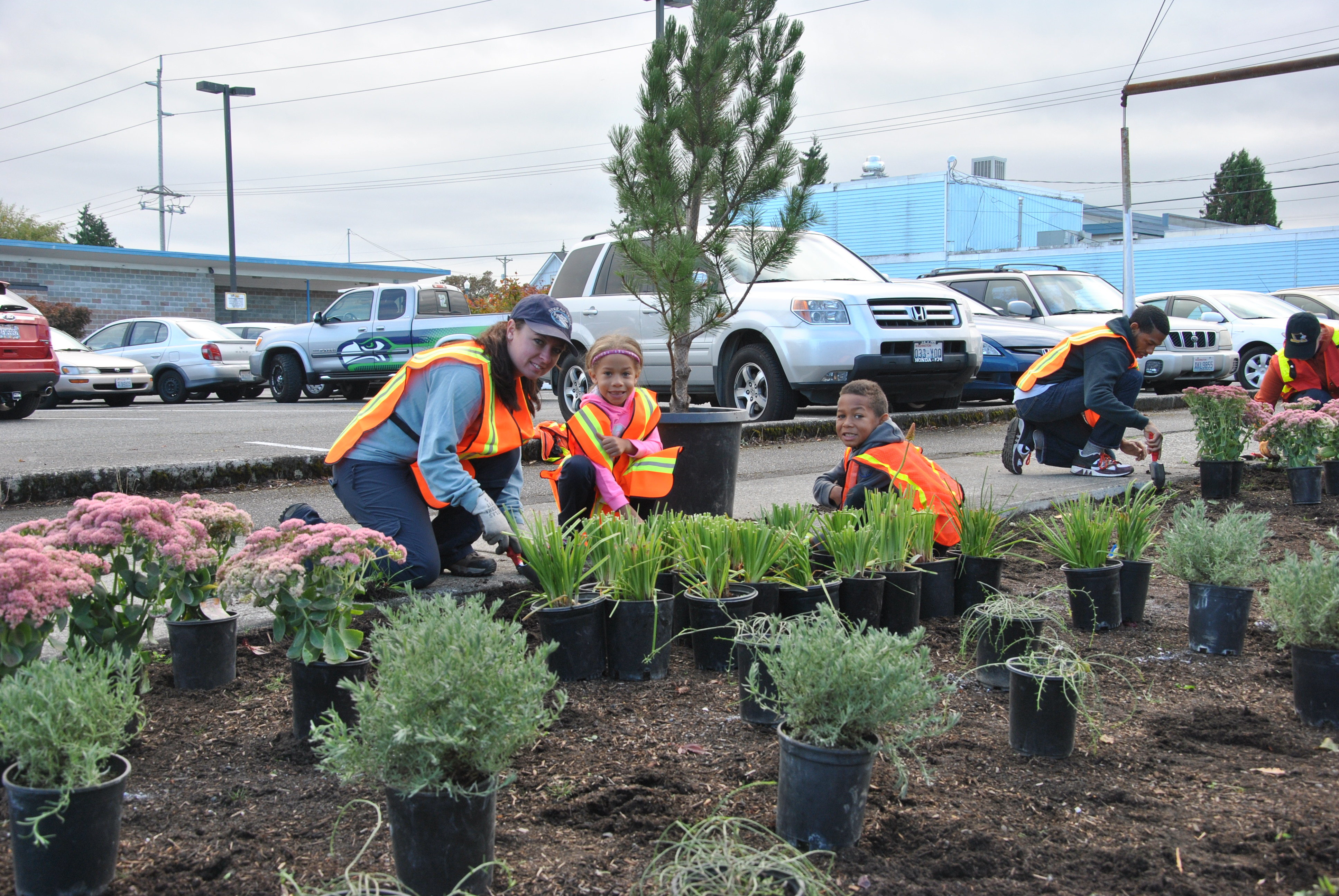 Earth Month Planting