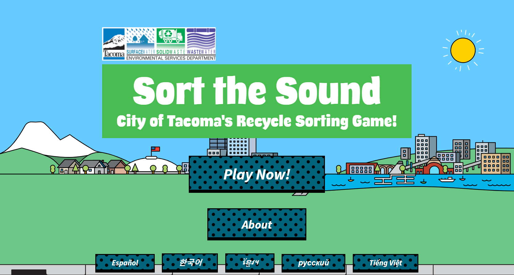 Sort the Sound game