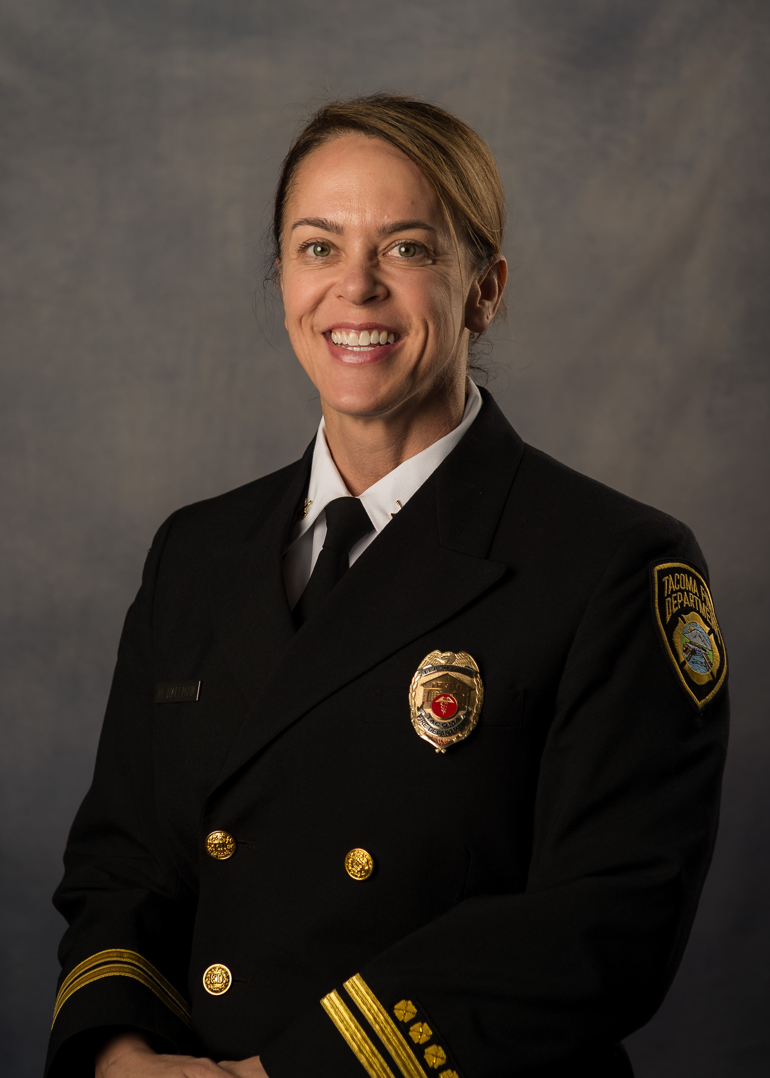 Assistant Chief Mary Hallman