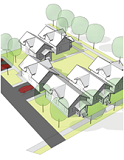 Infill Residential Design (illustration)