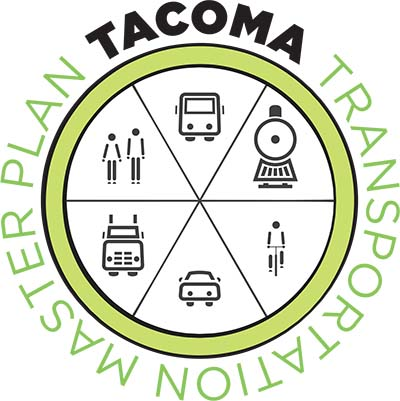 City of Tacoma Transportation Master Plan logo