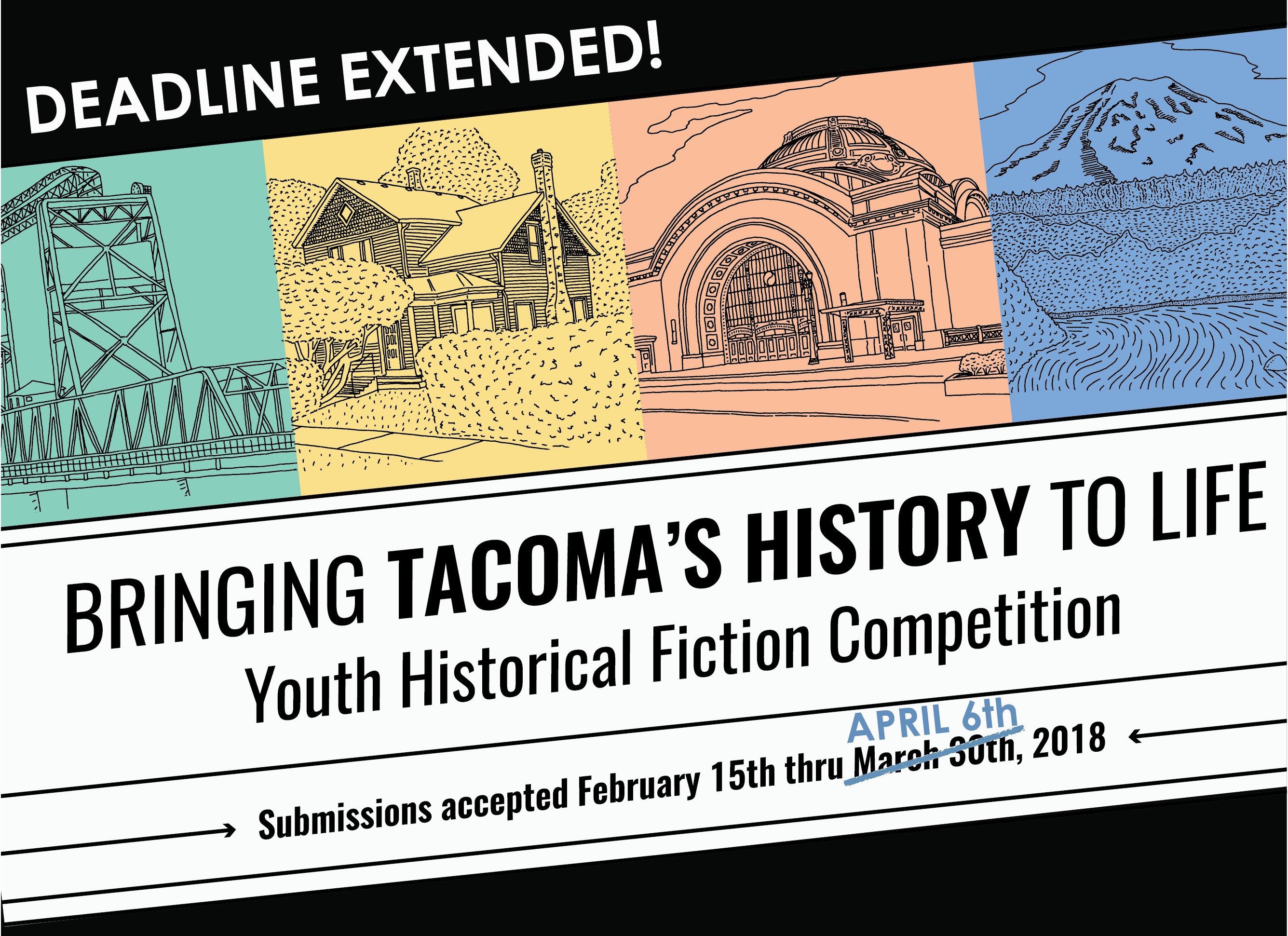 Logo for Youth fiction competition
